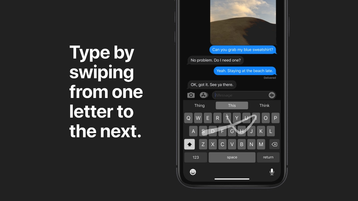 How to Disable or Enable Swipe Keyboard in iOS 13