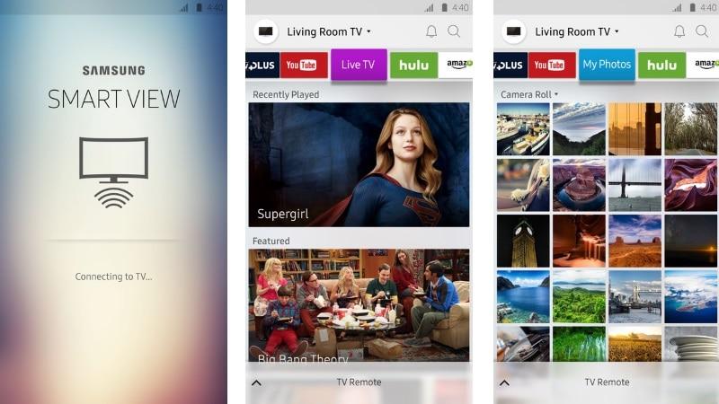 Samsung Smart View App Update Teases Chromecast Like