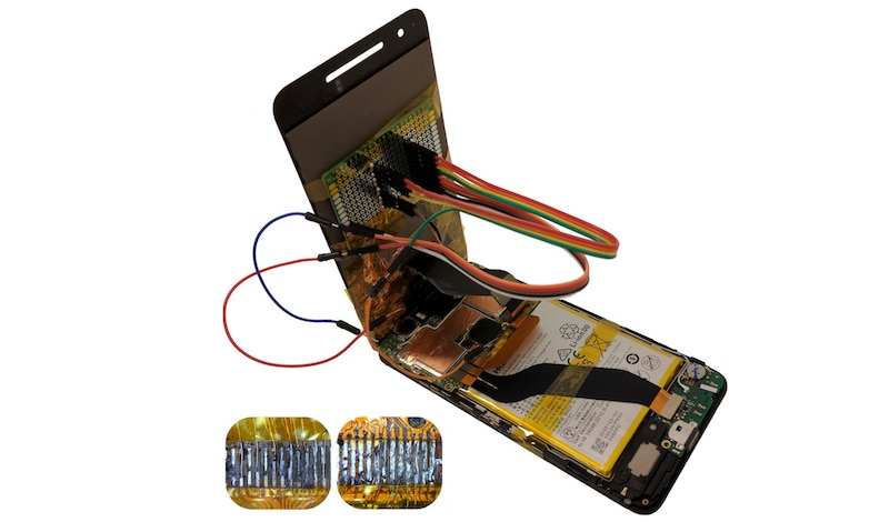 Replacement Screens With Malicious Chips Can Be Used to Control Your