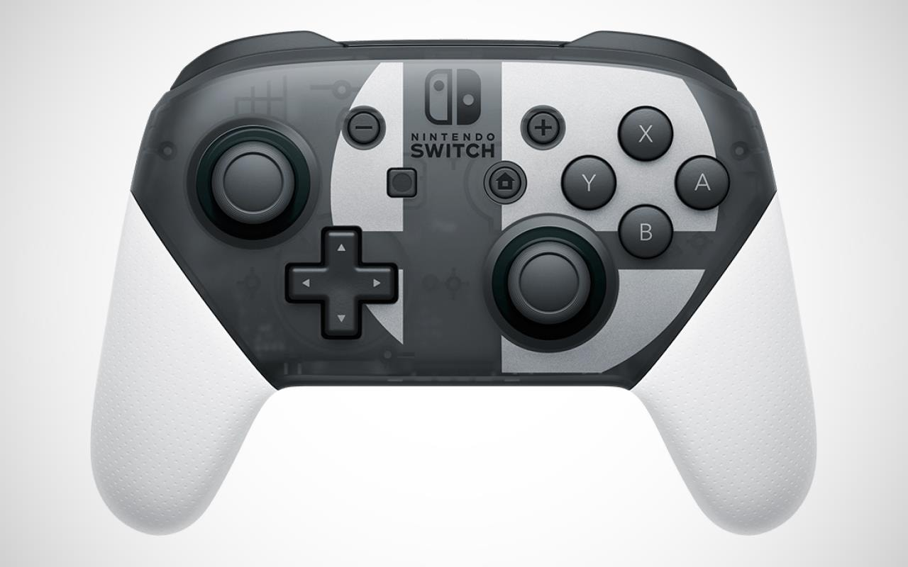 Super Smash Bros. Ultimate Nintendo Switch Pro Controller, 'Special Edition' Bundle Announced