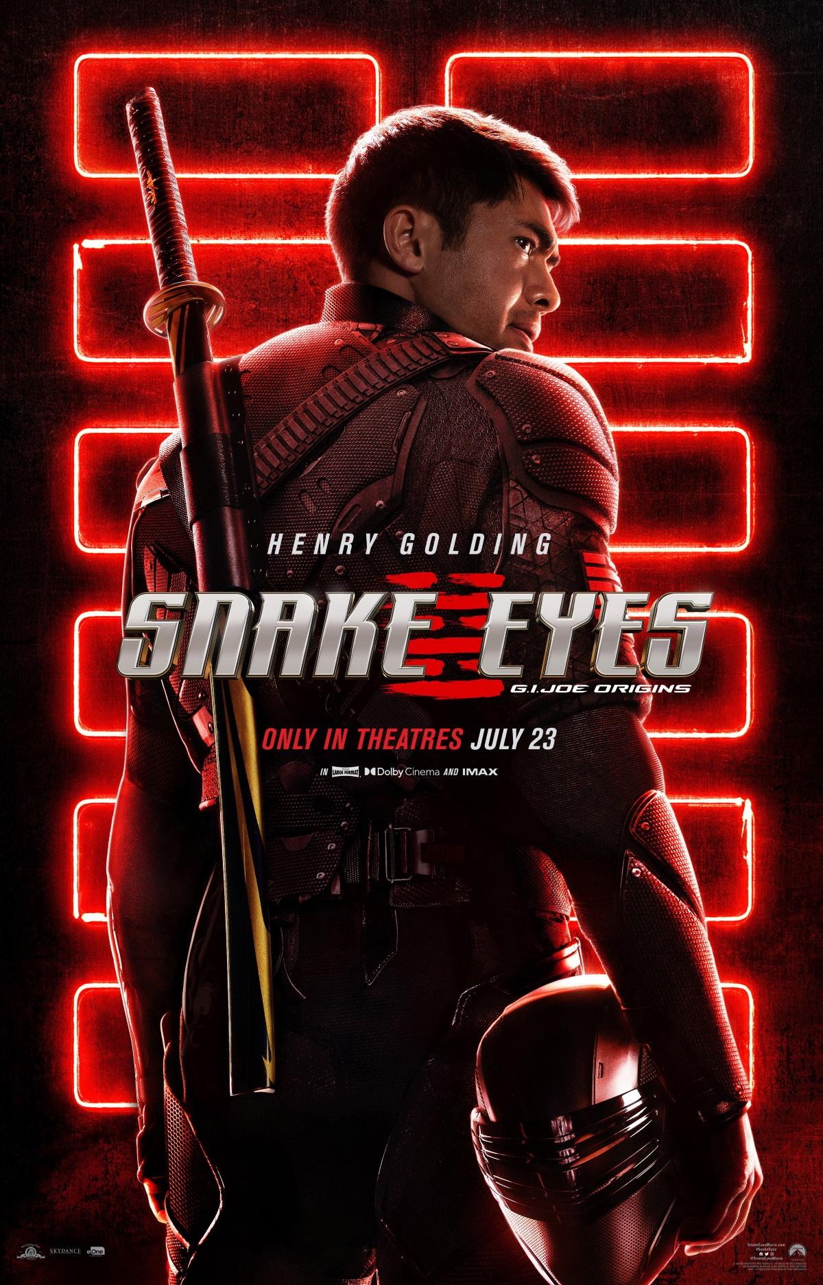 snake eyes poster snake eyes poster