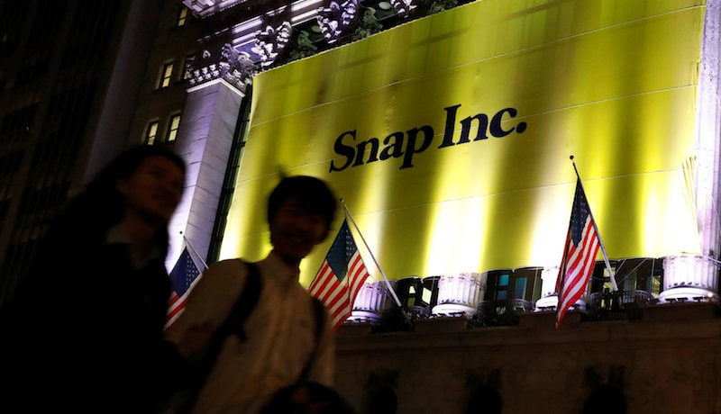 Snap Raises $3.4 Billion in Year's Biggest Tech IPO