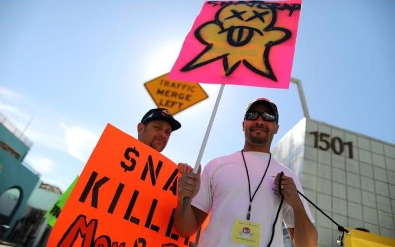 Snap HQ Spoils Community, Venice Beach Protesters Say