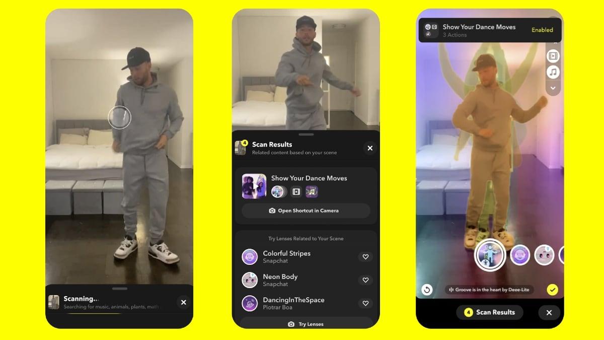 snapchat scan update image Snapchat Scan  Snapchat