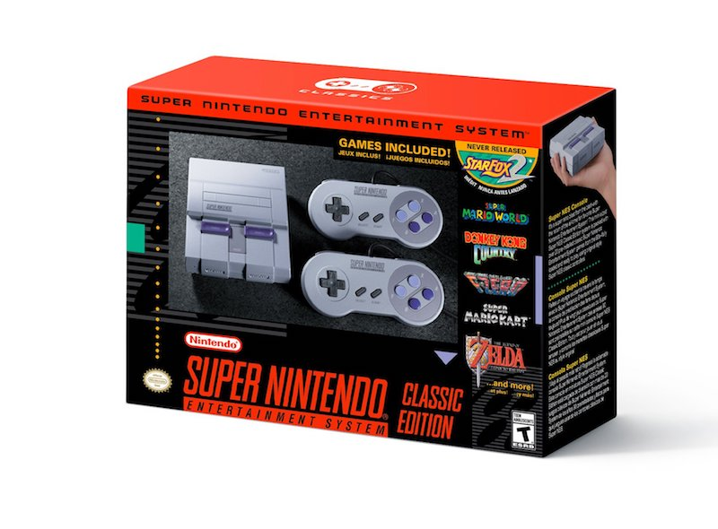 Nintendo Re-Launching Classic SNES Console