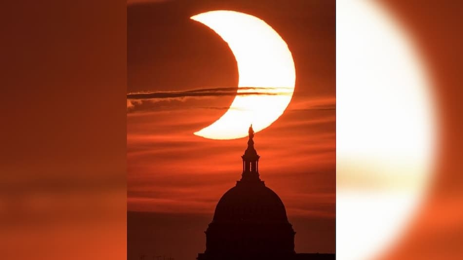 Solar Eclipse 2021: NASA Shares Stunning Images of the Celestial Event on Instagram