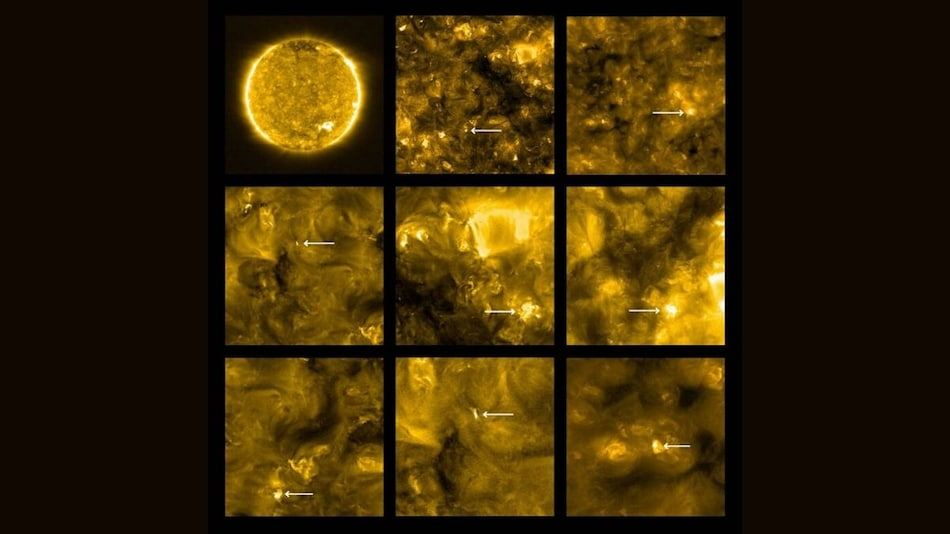 Solar Probe Reveals Sun's Tiny 'Campfires' in Closest-Ever Photos