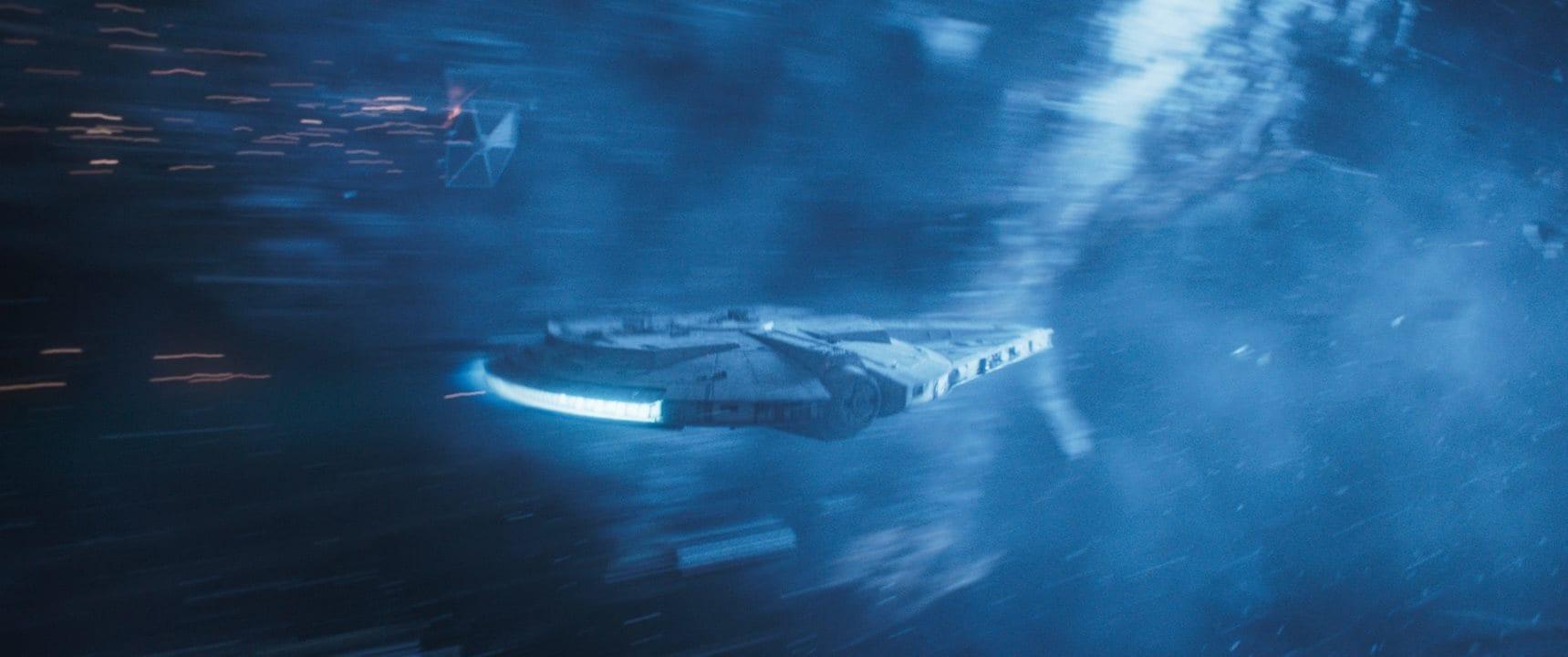 solo millennium falcon tie fighter Solo A Star Wars Story