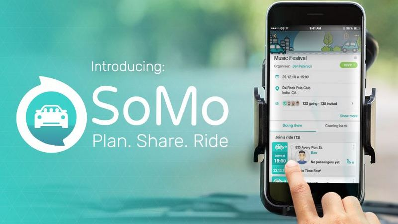 Here Launches SoMo, a Social Mobility App for Ride Sharing, Public