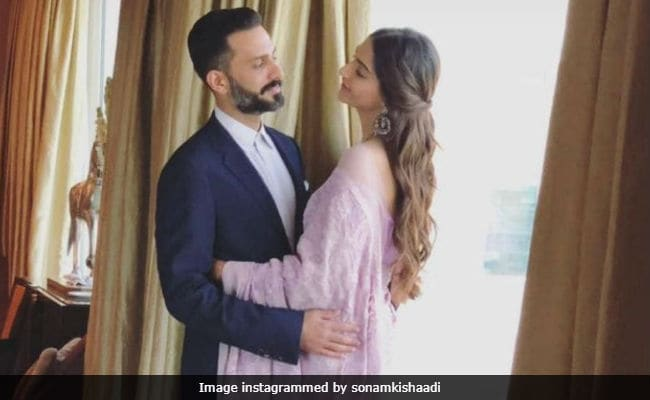 Cannes 2018: Sonam Kapoor And Anand Ahuja Share A Moment Before She Takes Off For The Croisette