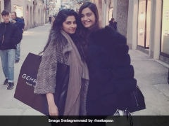 Cannes 2018: 'Super Nervous' Sonam Kapoor Leaves For French Riviera. Posts Message For Sister Rhea