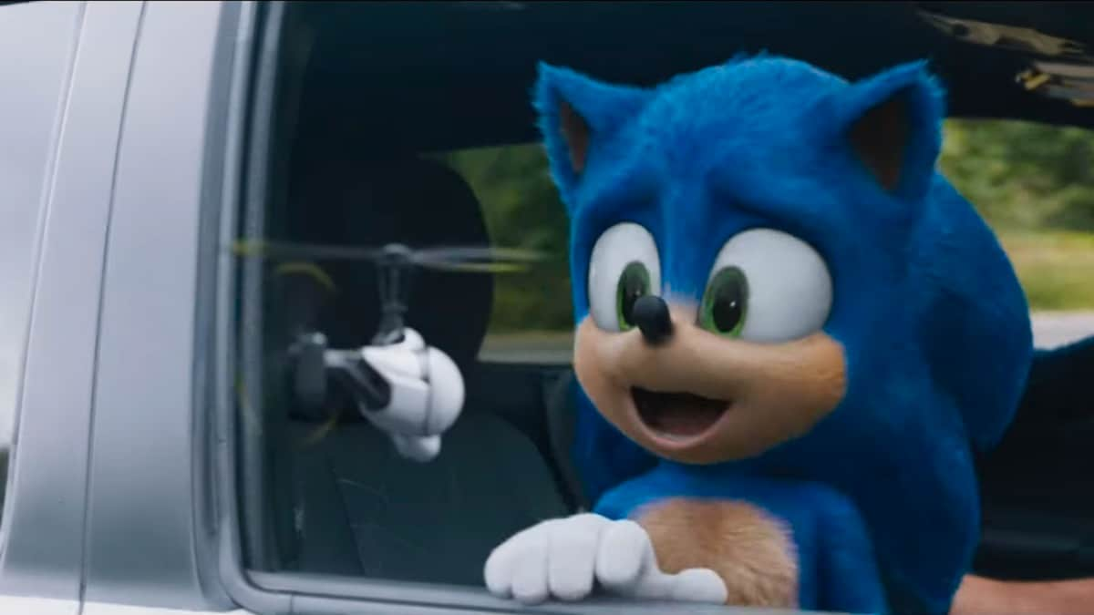 New Sonic The Hedgehog Movie Trailer Features A Redesigned Sonic With Bigger Eyes Concealed Teeth Entertainment News