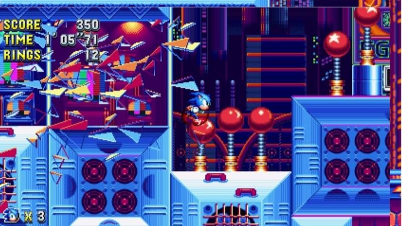 sonic mania break glass Sonic Mania