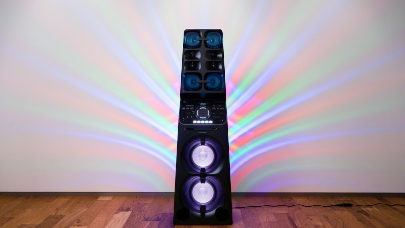 Sony Mhc V90dw Home Audio System With Party Lights