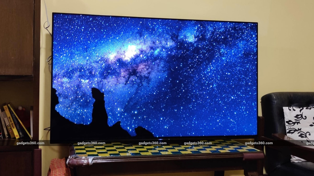 sony a9g oled tv review our planet night Sony A9G