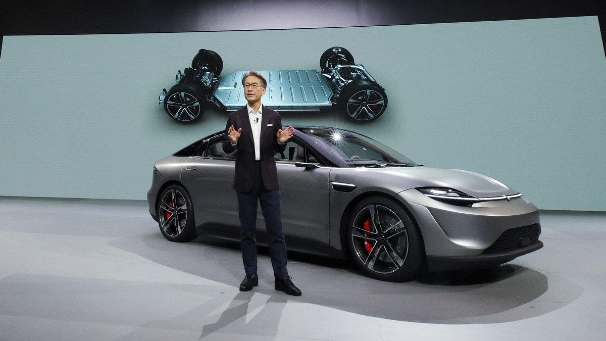 CES 2020: Sony to Test Self-Driving Cars to Boost Sensor, Safety Tech; Unveils Electric Concept Car