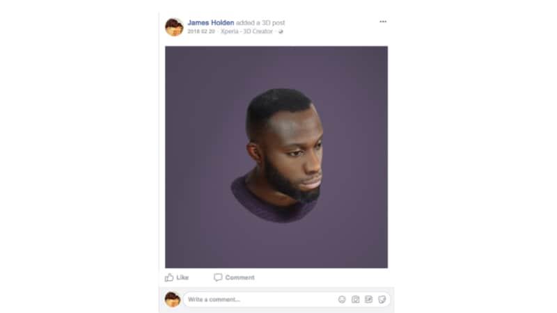 sony facebook 3D creators app Sony Mobiles Facebook 3D Creators App