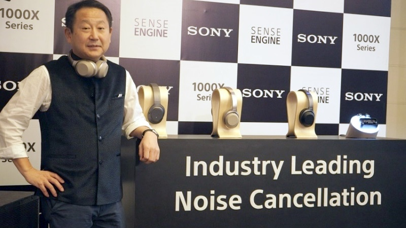 Sony Launches New Range of Noise Cancellation Headphones in India
