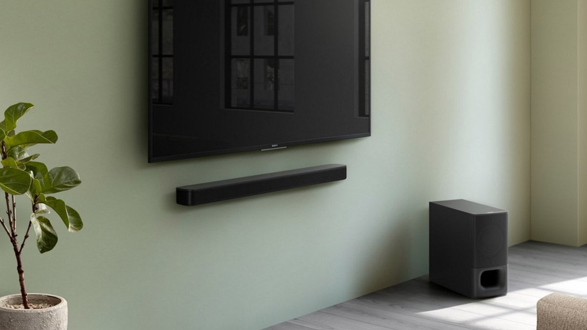 Sony HT-S350 2.1 Channel Soundbar With Wireless Subwoofer Launched in India at Rs. 17,990