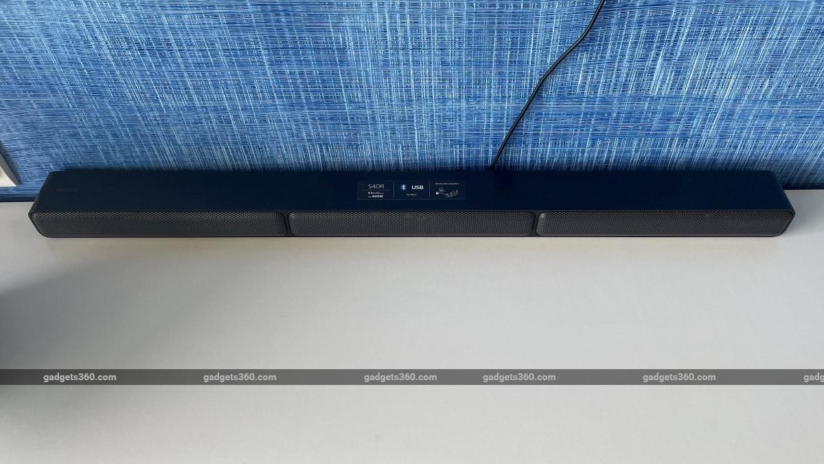 Sony ht s40r साउंडबार समीक्षा बार Sony