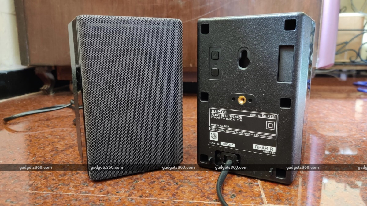 sony ht z9f review rear speakers Sony HT-Z9F