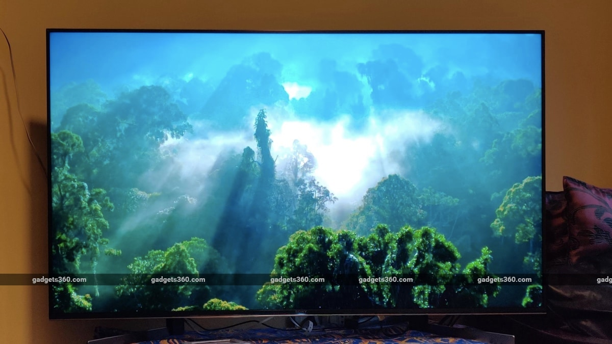 Sony X95G 55-Inch 4K HDR Smart Android TV Review | NDTV Gadgets360 com