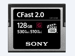 Sony G Series CFast Memory Cards With Write Speeds of Up to 510MBps Launched in India