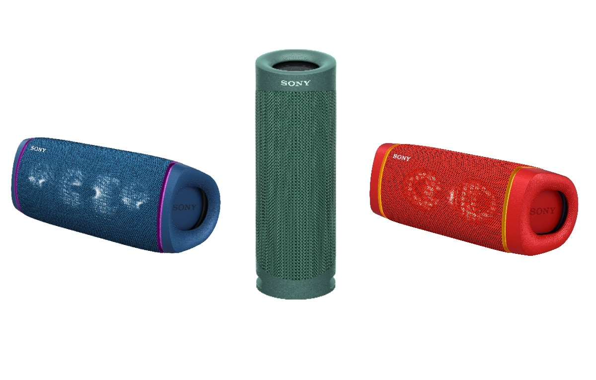Sony SRS-XB43, SRS-XB33, SRS-XB23 Extra Bass Wireless Speakers Launched in India, to Go on Sale From July 16