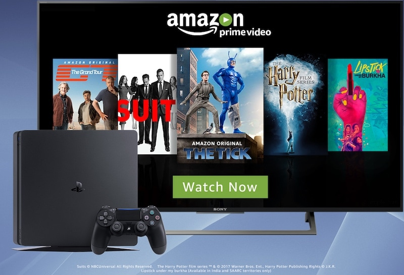 Amazon Prime Video App Arrives on PlayStation in India