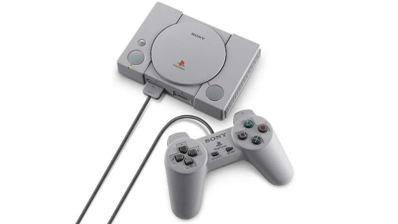 Sony copies Nintendo with PlayStation Classic mini gaming console