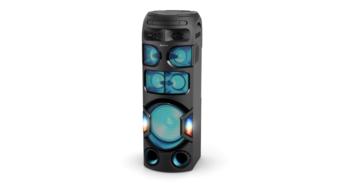 Sony V02, V42D V72D, V82D Party Speakers Launched in India, Starting at Rs. 16,990