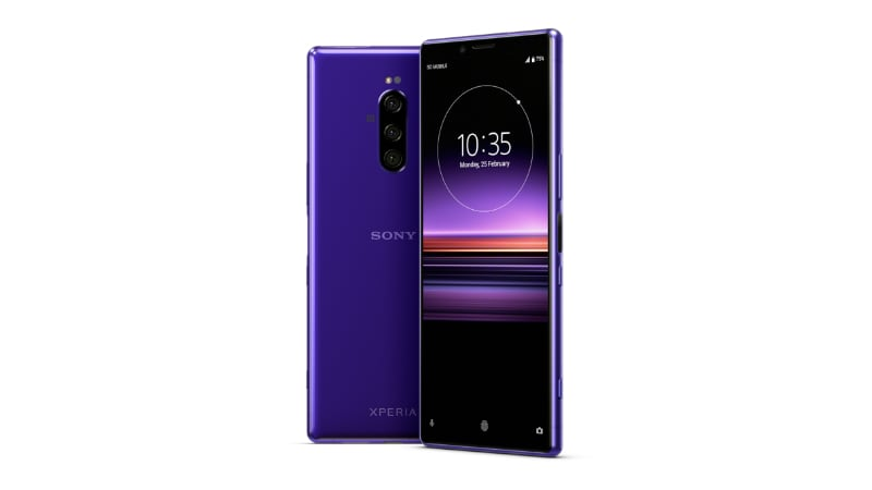 Sony Xperia 1 Instead of Xperia XZ4 Could Debut at MWC 2019 Press Render Leaks