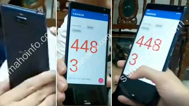 Sony Xperia XA3 Alleged Live Images Hint at Dual Camera Setup, 21:9 CinemaWide Display