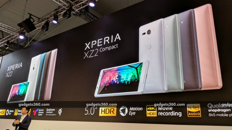 sonyxperia xz2 compact gadgets 360 inline Sony Xperia XZ2 Compact Launched MWC 2018