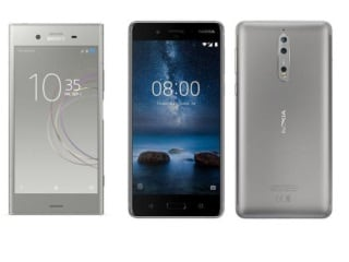 Nokia 8 vs Sony Xperia XZ1 vs OnePlus 5: Price, Specifications Compared