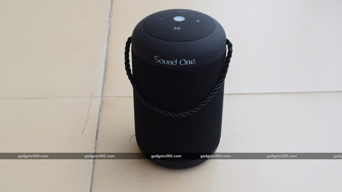 Sound One Drum Bluetooth Speaker Review Ndtv Gadgets 360