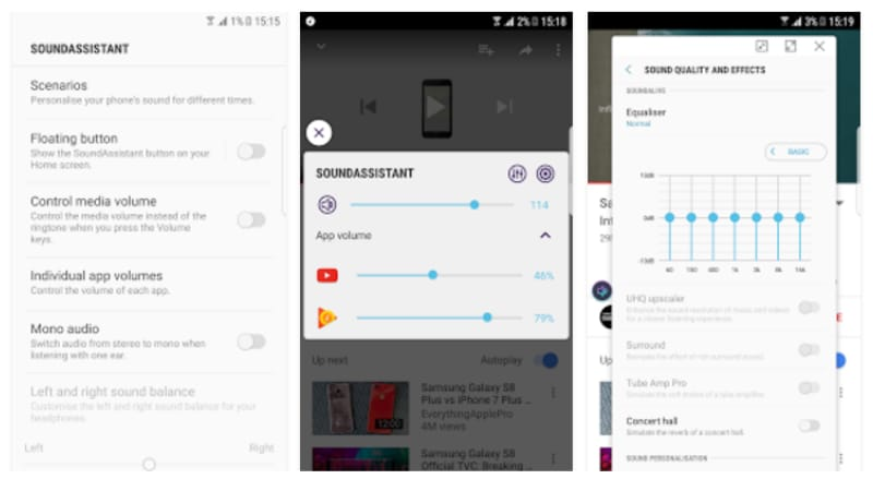 Samsung SoundAssistant App Launched, Brings More Audio