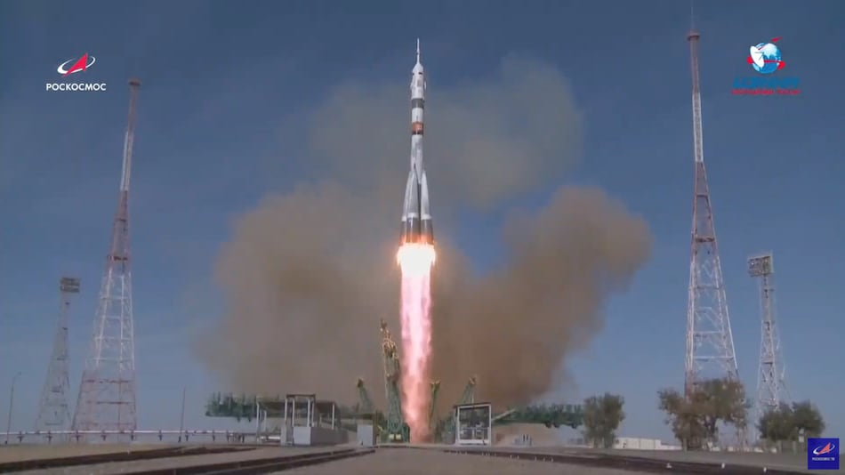 NASA Astronaut Kate Rubins, Two Russian Cosmonauts Blast Off to International Space Station