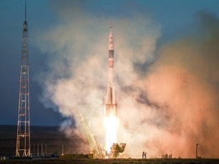 Soyuz Heads to ISS on First Manned Mission Since October Failure