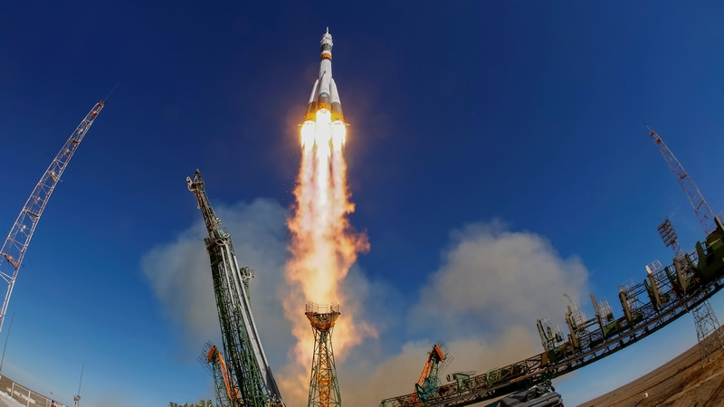Russian Federation  releases video showing Soyuz rocket failure as it happened