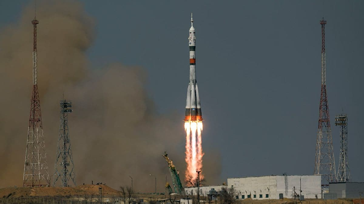 Soyuz MS-18 Rocket Honours 60th Anniversary of Yuri Gagarin's Space Travel