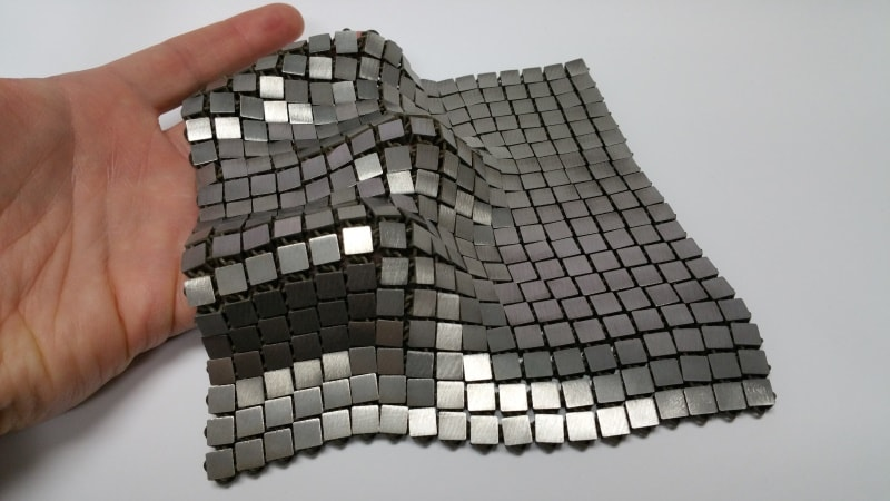NASA scientists developing metal fabrics for use in space