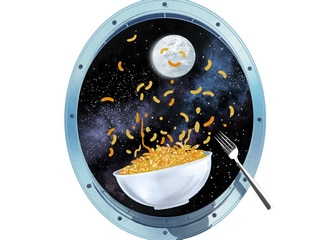 Ever Wonder What's on the Menu for Astronauts?