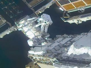 International Space Station Being Prepped for New Solar Panels Coming Later This Year