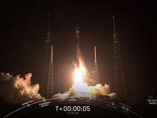 SpaceX Launches 60 Starlink Internet Beaming Satellites Aboard Falcon 9 Rocket