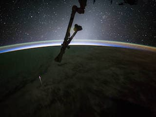 SpaceX Dragon Returns From ISS With Chinese Experiment