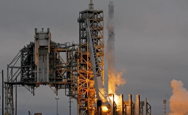 SpaceX Blasts Off Cargo From Historic NASA Launchpad