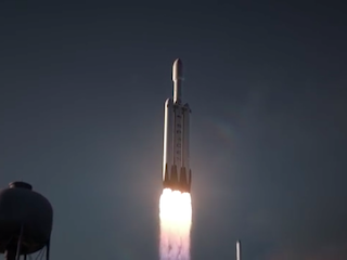 SpaceX Falcon Heavy Rocket's Maiden Flight Unlikely to Be Successful, Says CEO Musk