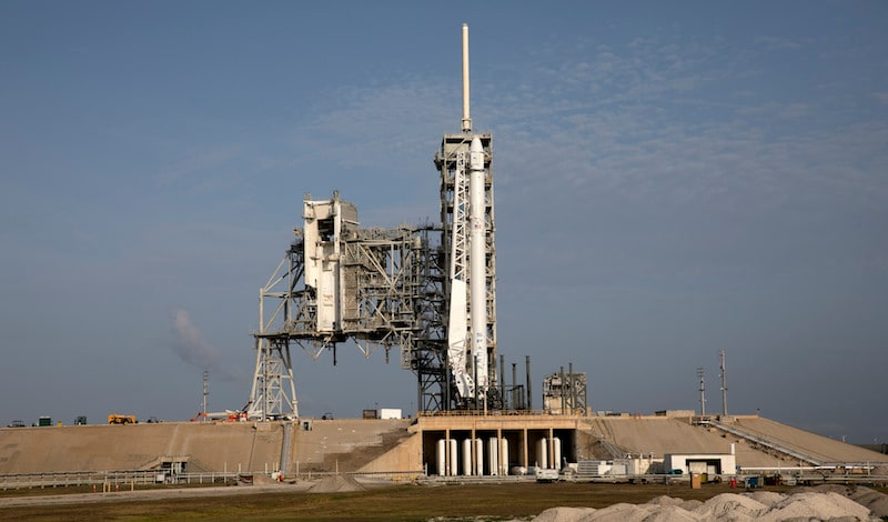 SpaceX ISS Cargo Launch Postponed to Saturday After Lightning Strike
