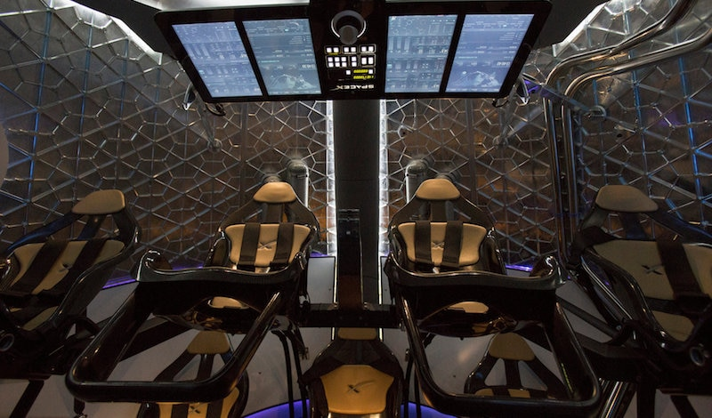 SpaceX to Send Two Tourists Around Moon in 2018
